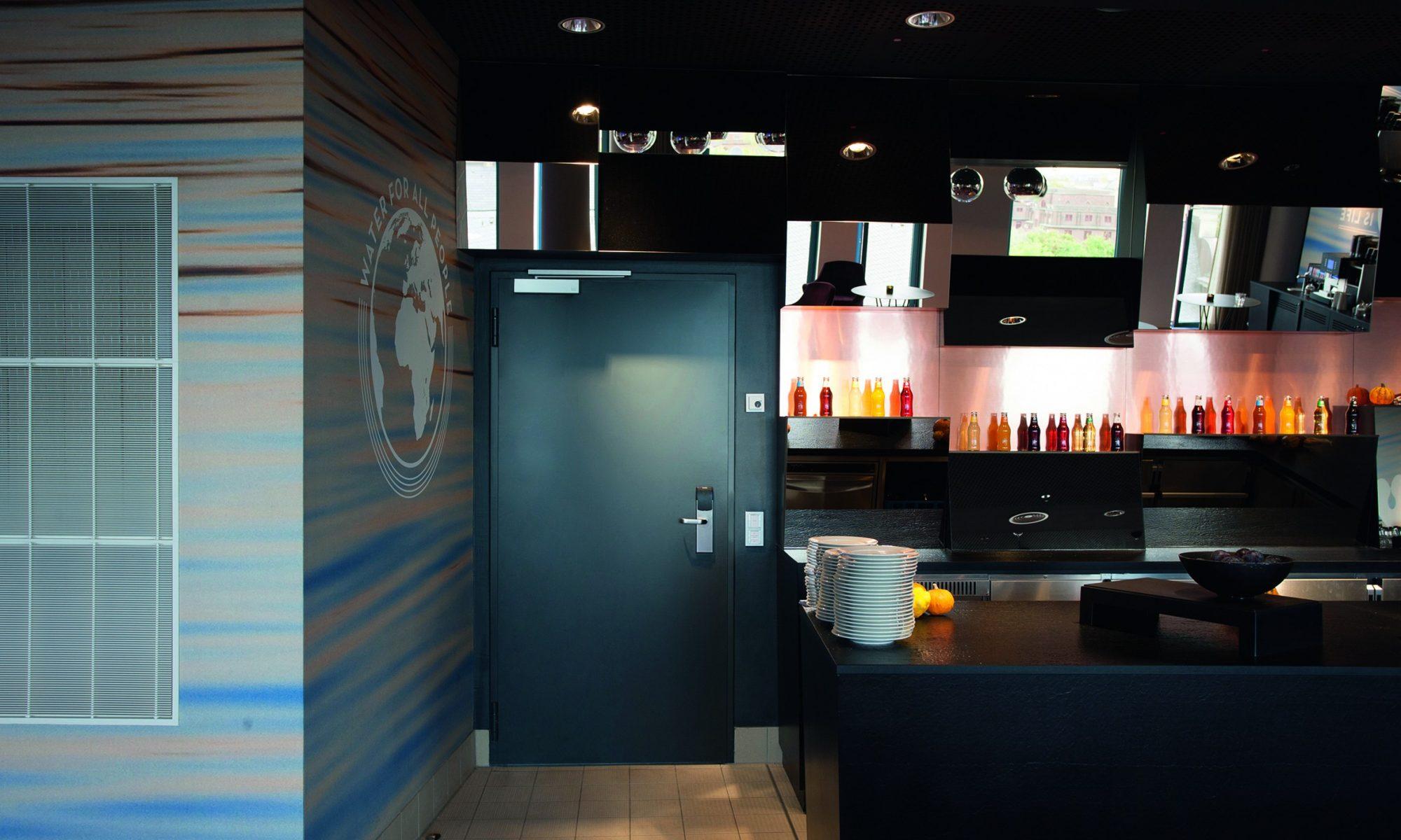 Jednokrídlové protipožiarne dvere Teckentrup
