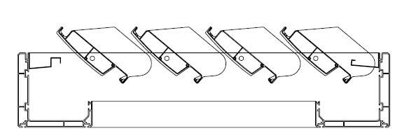 Natocenie lamiel pergoly 140 stupnov
