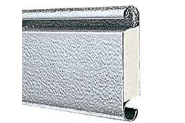 Dvojstenný hliníkový profil 4020, prevedenie stucco