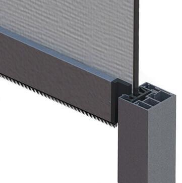 Zip systém pre vedenie screenovej clony