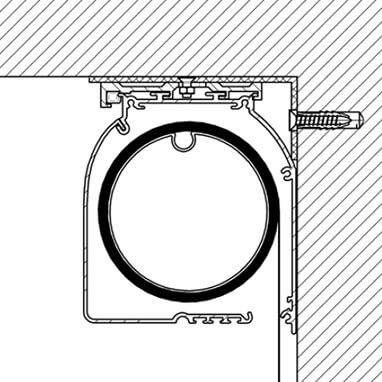 Montáž rolety na stenu