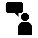 Ovladanie hlasom - ikona